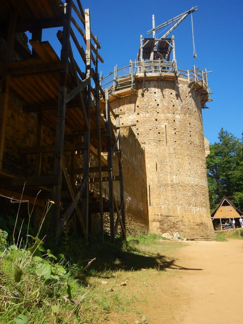 La tour maîtresse (le donjon)